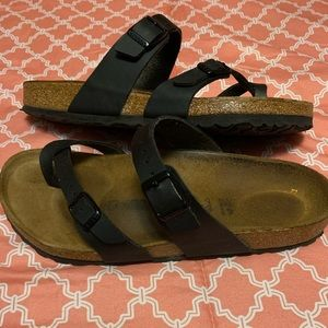 Birkenstock Mayari Black Sandals Women's size 41